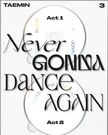 Taemin_Never_Gonna_Dance_Again_Extended_ver._physical_album_cover