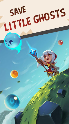 Bubble Shooter: Witch Story apkpoly screenshots 1