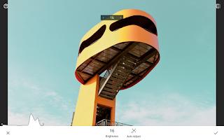 Screenshot of Snapseed