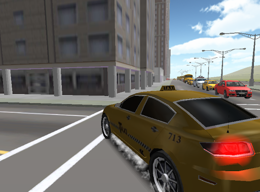 City Traffic Racer Taxi