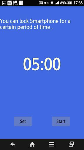 Screen Lock Timer