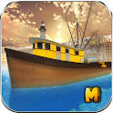 Fishing Boat Simulator 3D icon