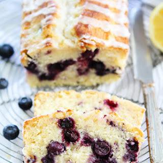Lemon Blueberry Loaf Cake.