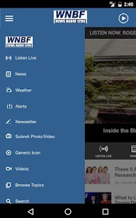 WNBF News Radio - Binghamton News Radio 1290- screenshot thumbnail