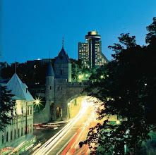 Photo: Located in the heart of Québec City, Loews Hôtel Le Concorde provides guests with comfortable Québec hotel rooms and panoramic views of the city.