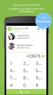 Libon - International calls- screenshot thumbnail