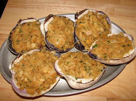 Rhode Island Stuffed  Quahogs Recipe