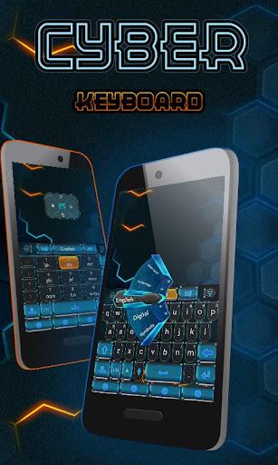 Cyber GO Keyboard Theme Emoji