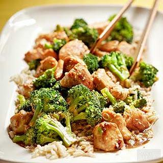 Sesame Chicken with Broccoli Recipe