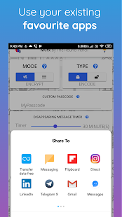 M0rx - Encrypted Disappearing Msgs, Images & Files