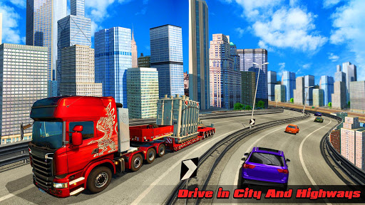 Speedy Truck Driver Simulator: Offroad Transport  screenshots 5