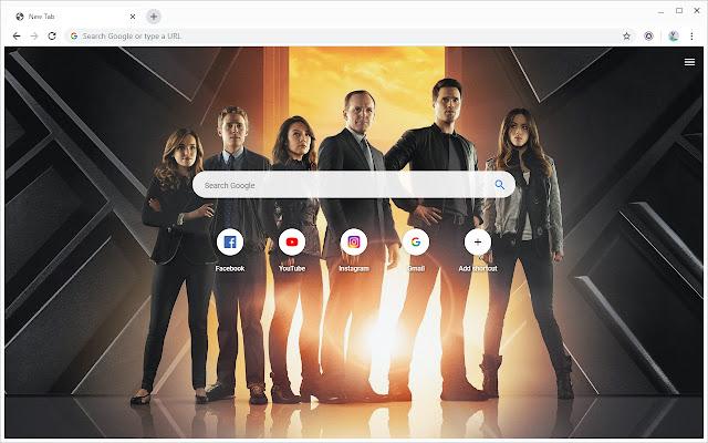 New Tab - Agents of S.H.I.E.L.D.