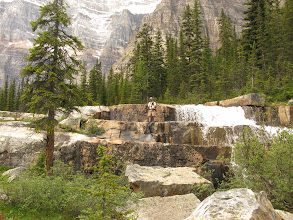 Photo: Paradise Valley, Larch Valley to Giant Steps, Alberta 15 juillet 2009