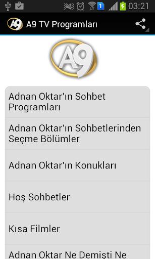 A9 TV Programları