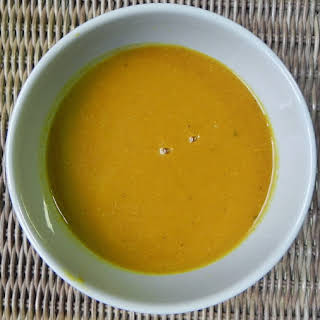 Detox Pumpkin Soup (Bowl of Sunshine Soup!).