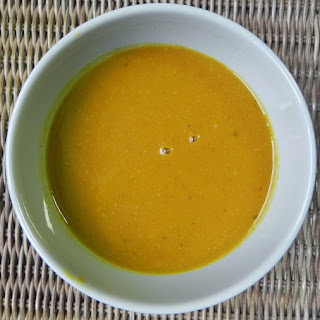 Detox Pumpkin Soup (Bowl of Sunshine Soup!).