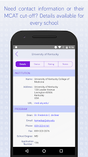 Medical School App Tracker- screenshot thumbnail