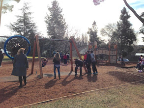 Photo: Day 11: Playing in the park in the town of Berrima after lunch