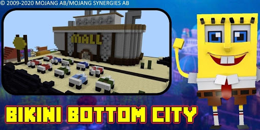 Bikini Bottom City Craft Map 7.0 screenshots 6