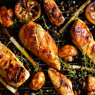 Tuscan Grilled Lemon Chicken with Vegetables Recipe
