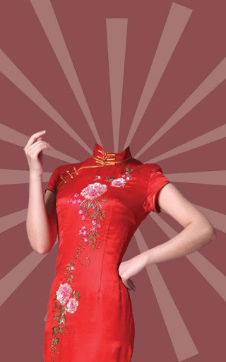 Chinese Woman Photo Suit