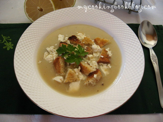 Пилешка крем супа (Cream of Chicken Soup)