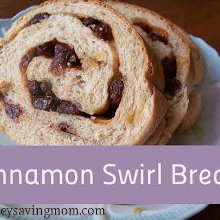 Cinnamon Swirl Bread.