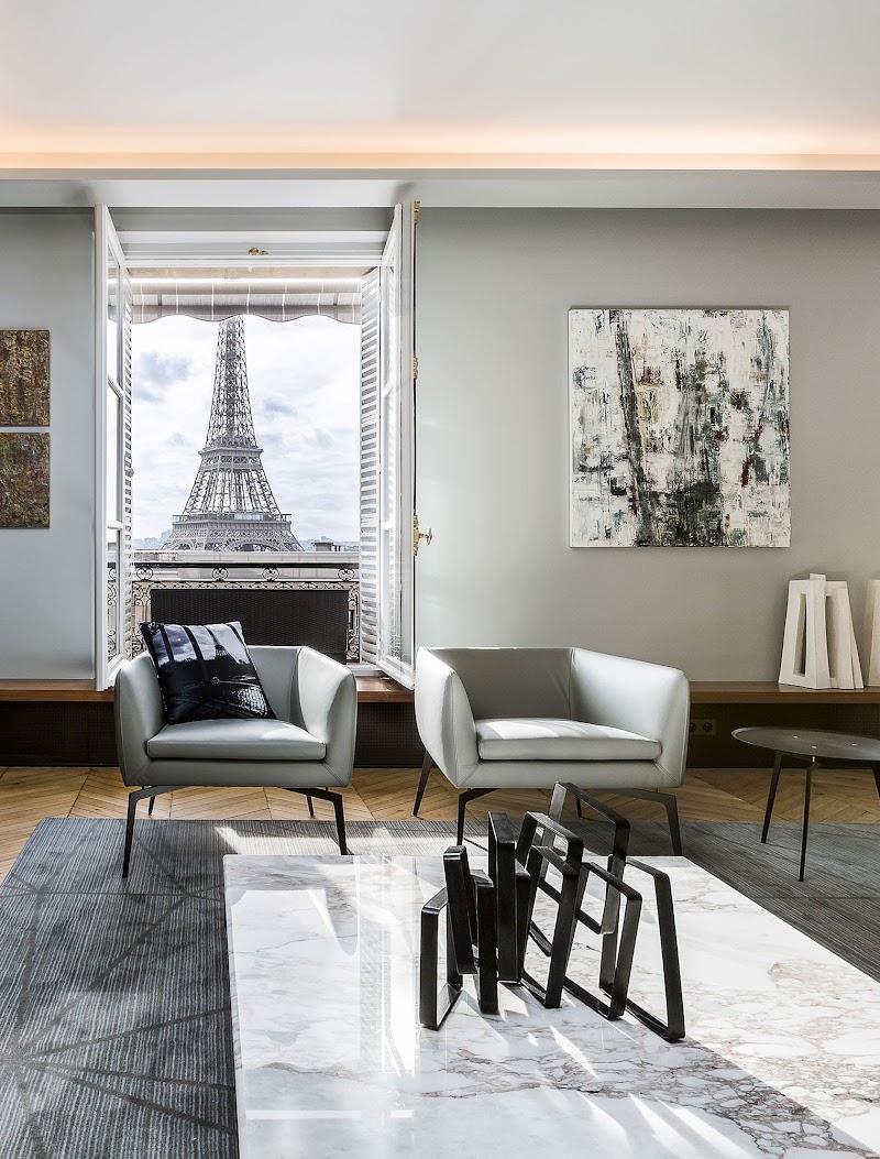 Muebles de Alivar en un apartamento de lujo de París