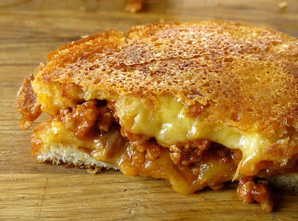Sloppy Joe Grilled Cheese Recipe