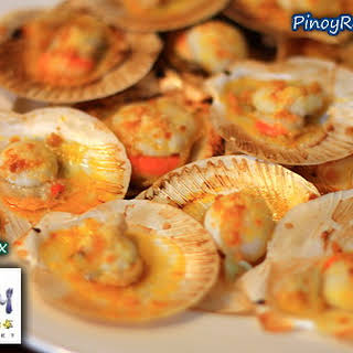 Pinoy Grilled Scallops.