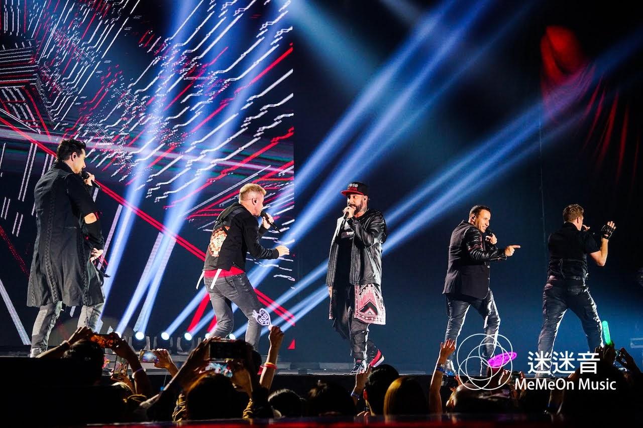 【迷迷現場】 (圖多)  新好男孩 Backstreet Boys 南展嗨唱 原味內褲送台下