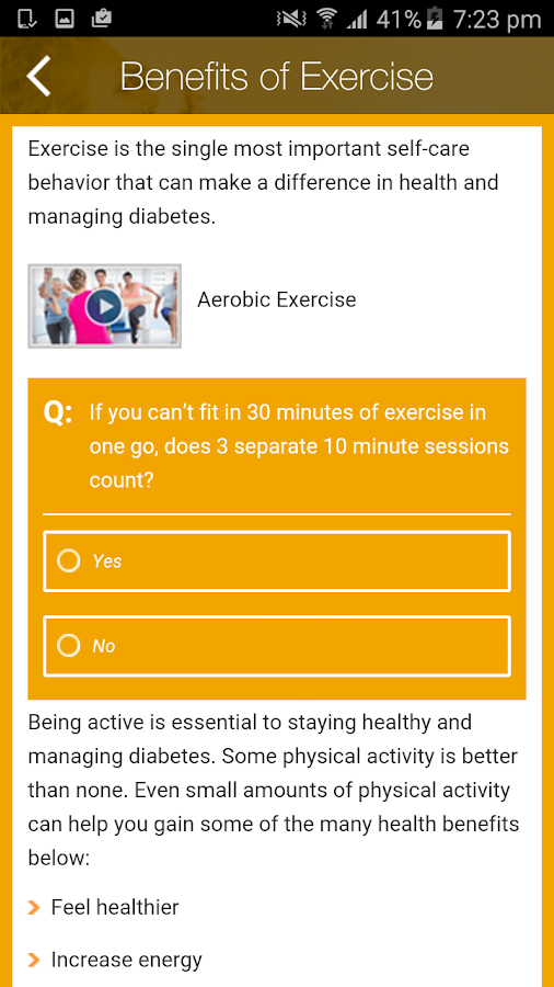 Care4life Diabetes- screenshot