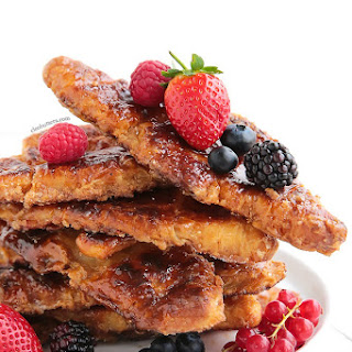 Caramelized Croissant French Toast Recipe