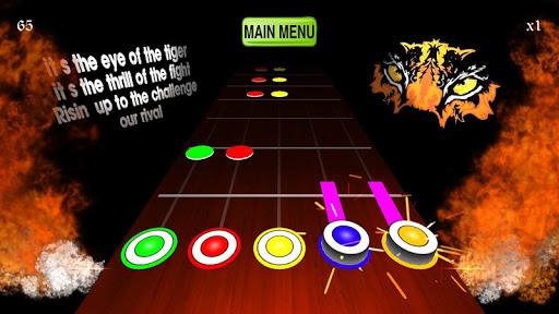 Guitarist : guitar hero battle - Guitar chords apkpoly screenshots 4