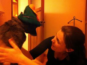 Photo: Malia and Esther