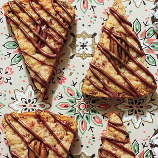 Pecan-Cranberry Shortbread