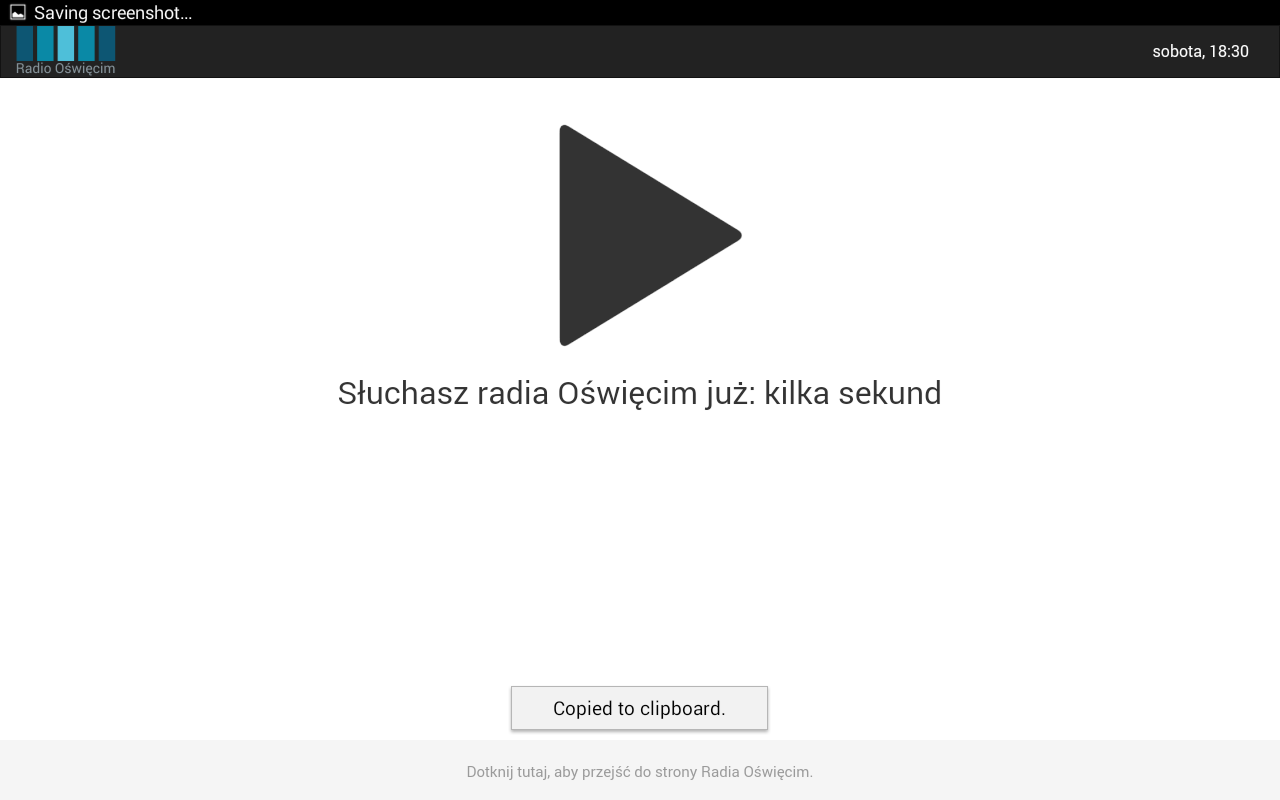 Radio Oświęcim- screenshot