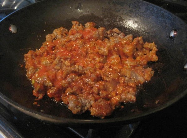 To prepare the sausage filling, saute sausage meat in large pan on medium heat...