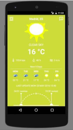 免費下載天氣APP|Spain  Weather app開箱文|APP開箱王