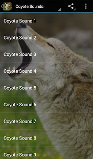 Coyote Sounds- screenshot thumbnail