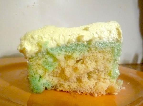 Citrus Jello Pudding Cake
