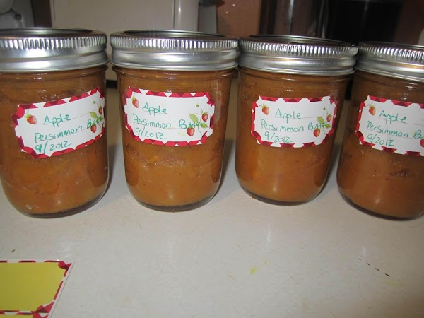 Persimmon Apple Butter Recipe