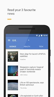 Newslet: News reader- screenshot thumbnail