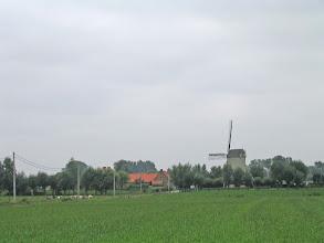 Photo: Beukelaermolen au nord de Merkem