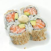 Salmon & Avocado Medium Roll (LG)