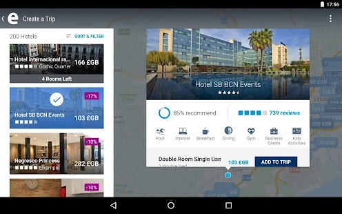 ebookers: Hotel, Flights, Cars- screenshot thumbnail