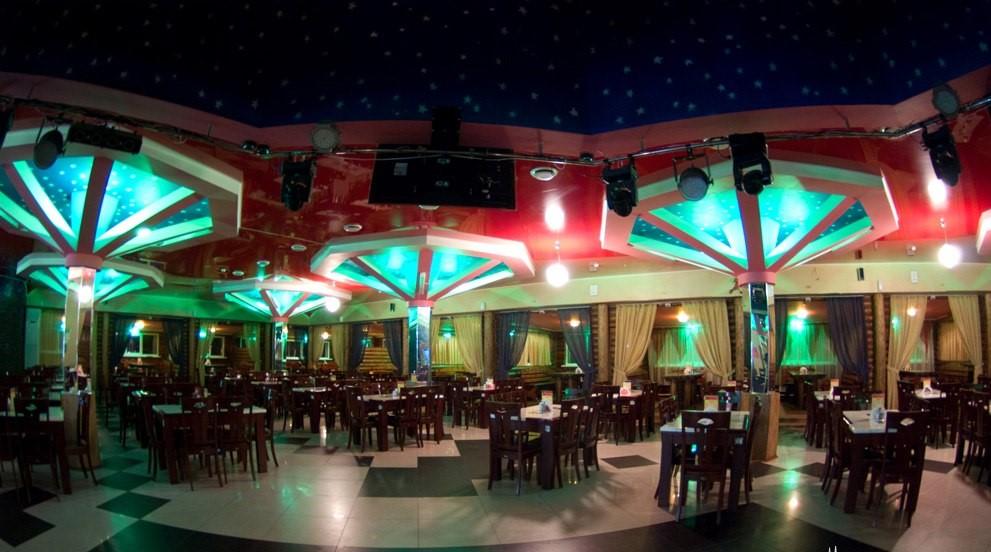 Звёздная ночь в Хабаровске