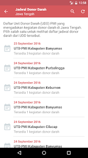Stok Darah dan Jadwal Donor- screenshot thumbnail