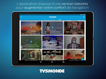 TV5MONDE Capture d'écran