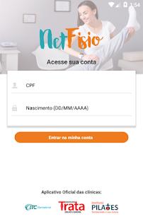 NetFisio - náhled